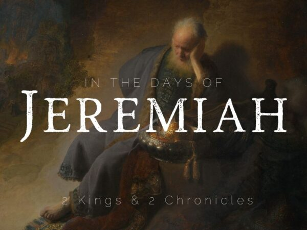 In the days of Jeremiah