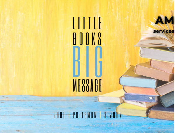 Little books, big message Image